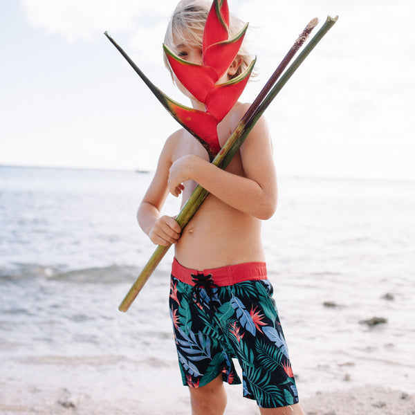 12/18M, 2T: Eco-Friendly Kealoha Boardies