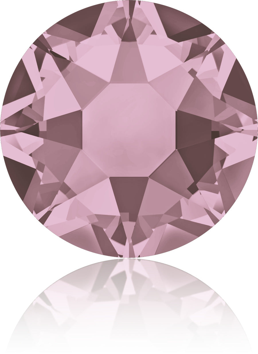 Antique Pink Swarovski Hot Fix Crystals - Creative Crystal