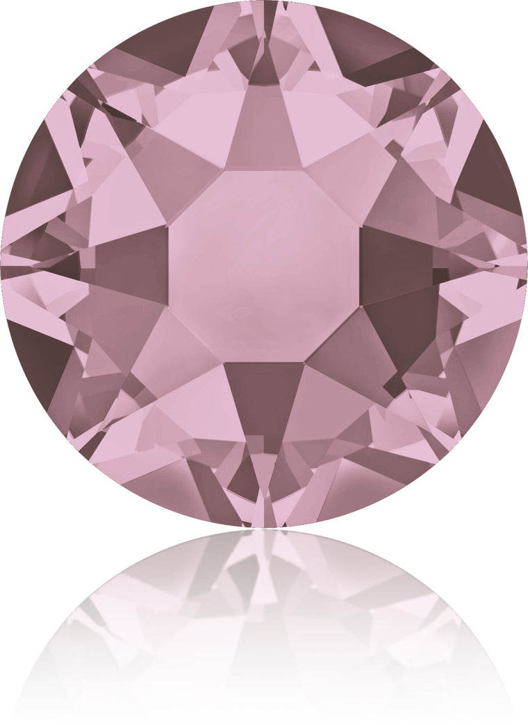 Antique Pink Swarovski Hot Fix Crystals