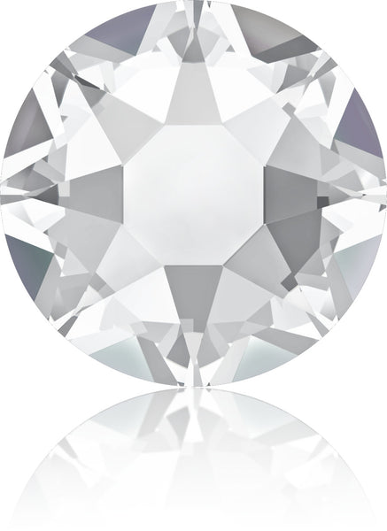 Clear Diamond Swarovski Hot Fix Crystals - Creative Crystal