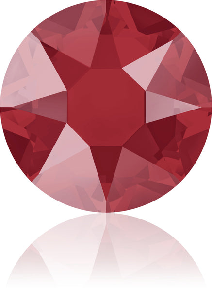 Royal Red Swarovski Hot Fix Crystals - Creative Crystal