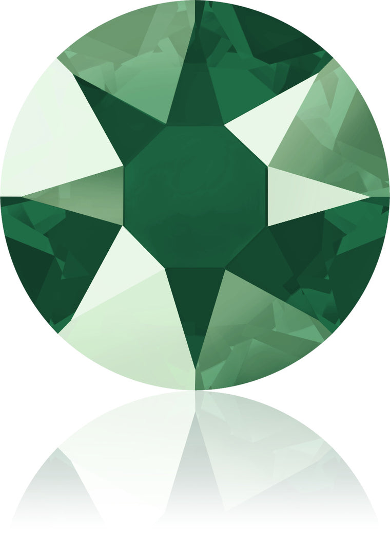 Royal Green Swarovski Hot Fix Crystals