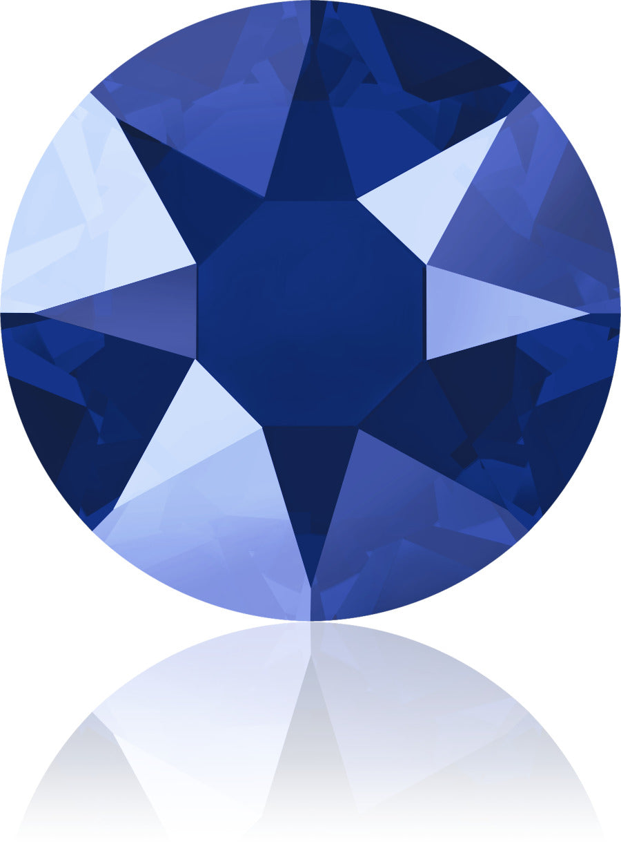 Royal Blue Swarovski Hot Fix Crystals - Creative Crystal
