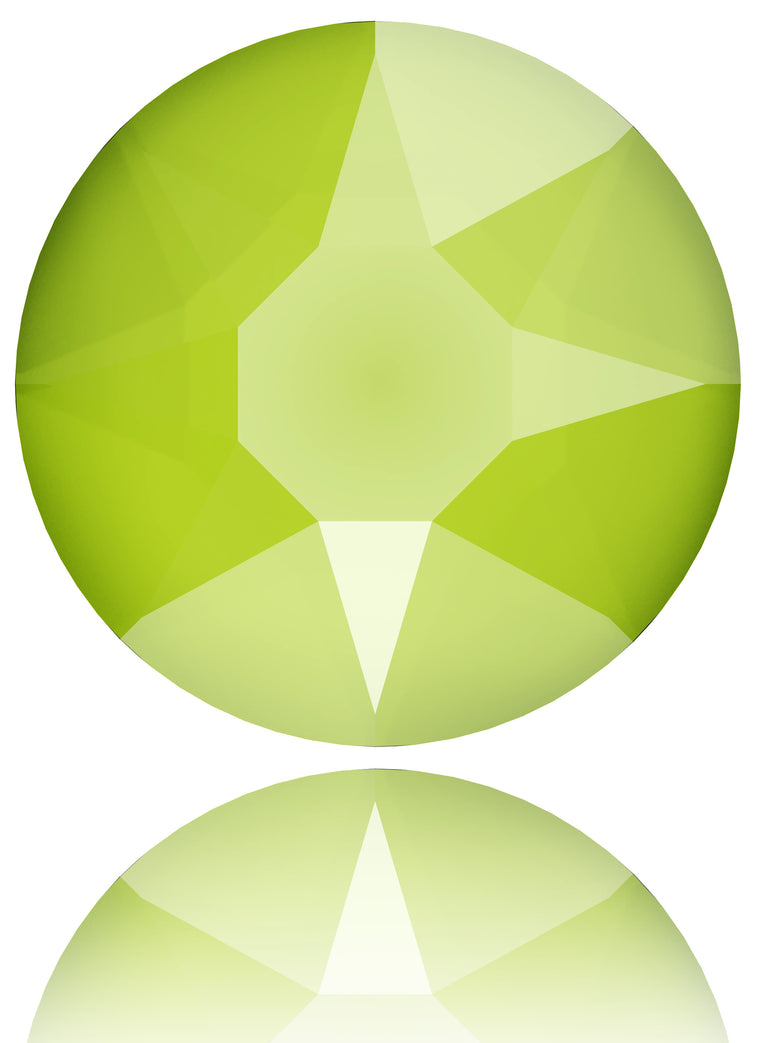 Crystal Lime Swarovski Hot Fix Crystal