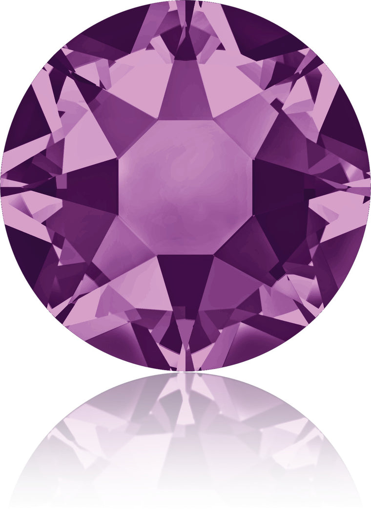 Amethyst Swarovski Hot Fix Crystals