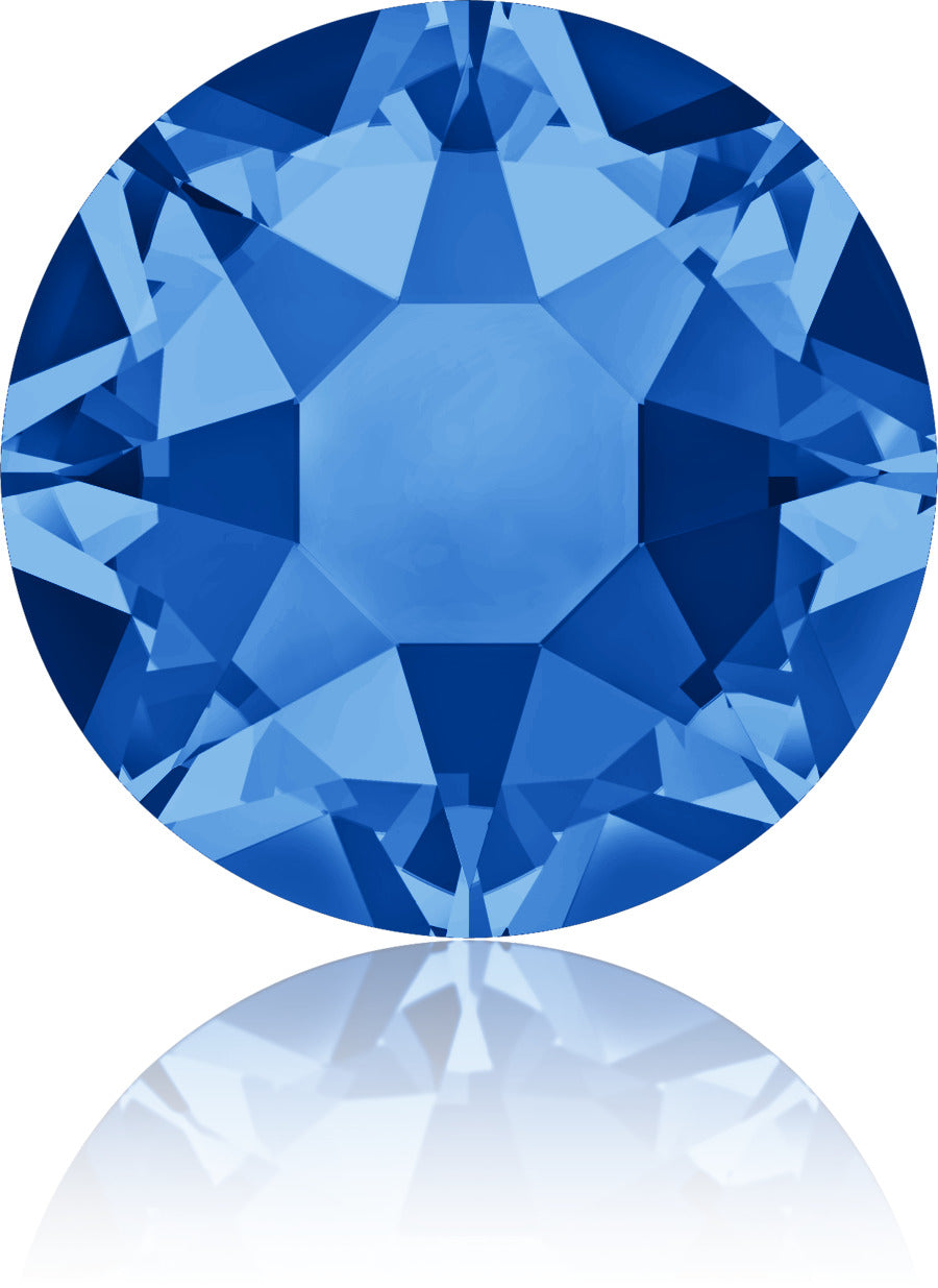 Sapphire Swarovski Hot Fix Crystals - Creative Crystal