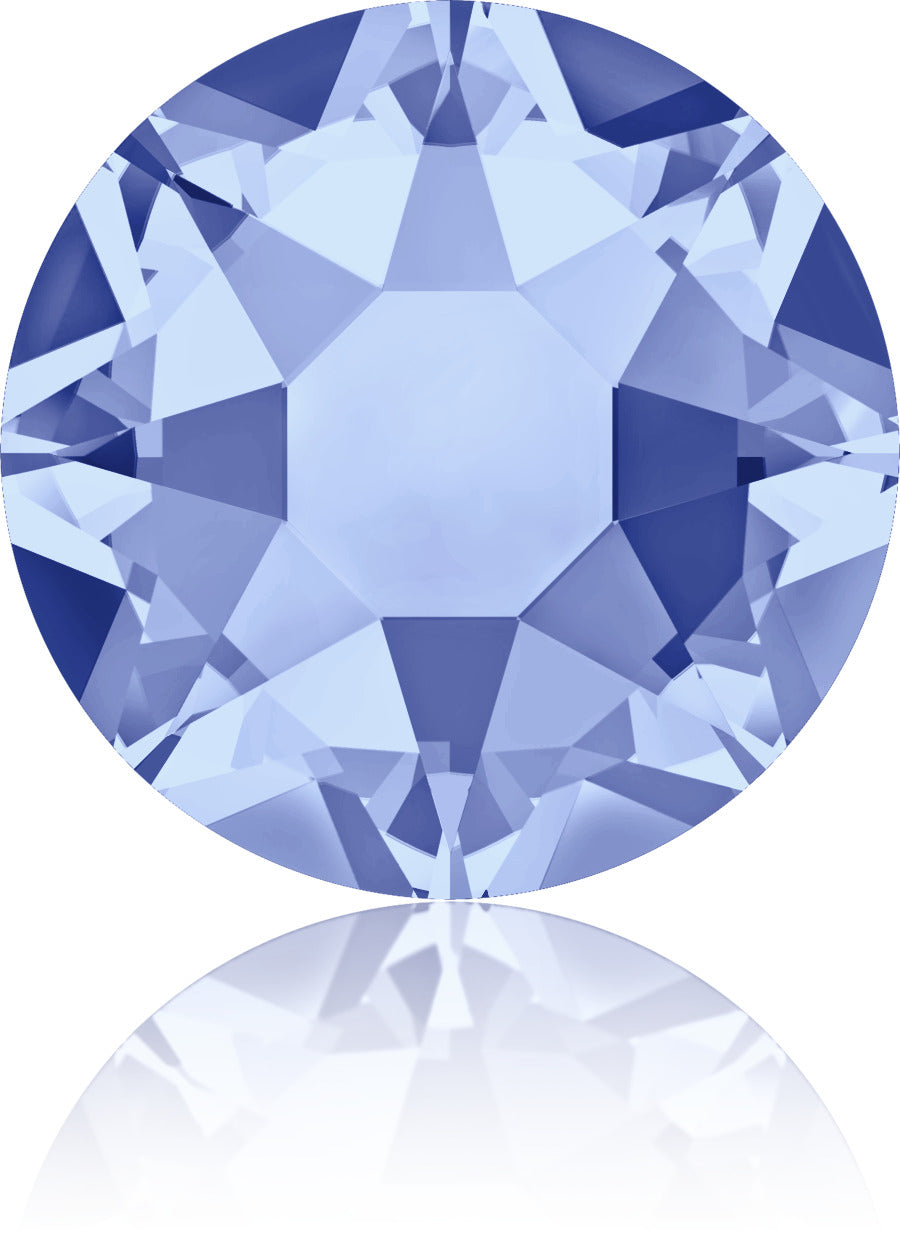 Light Sapphire Swarovski Hot Fix Crystals - Creative Crystal