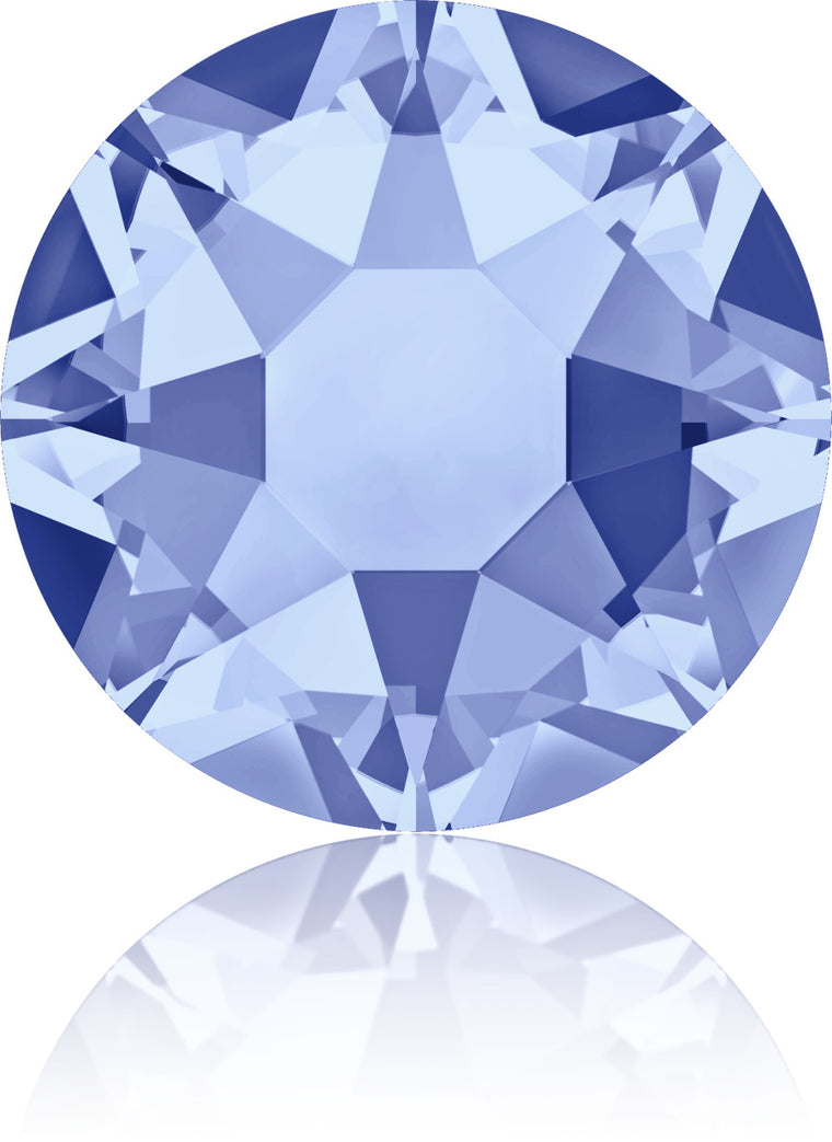 Light Sapphire Swarovski Hot Fix Crystals