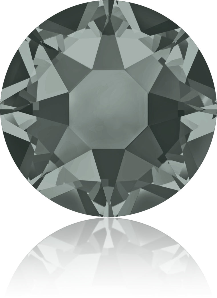 Black Diamond Swarovski Hot Fix Crystals
