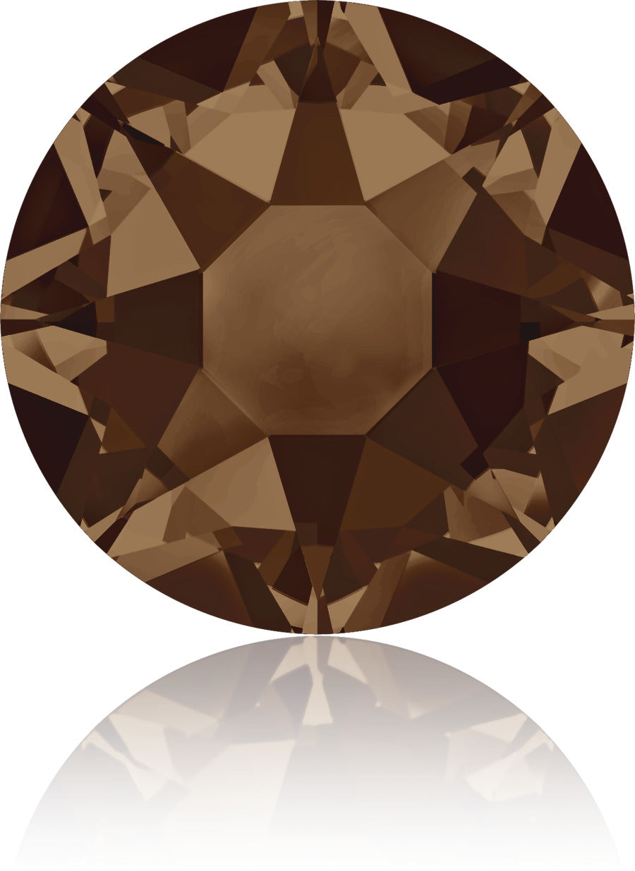 Smoked Topaz Swarovski Hot Fix Crystals - Creative Crystal
