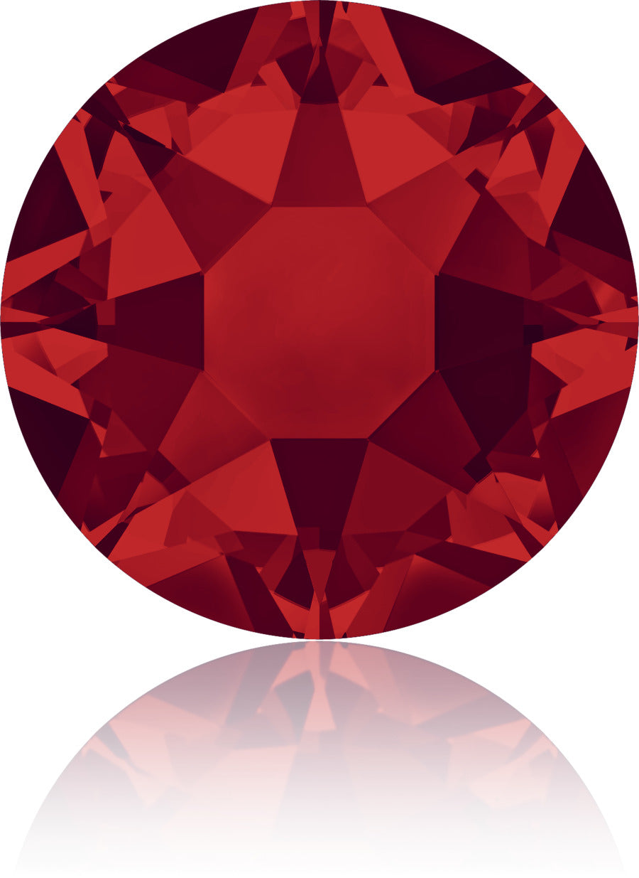 Light Siam Red Swarovski Hot Fix Crystals - Creative Crystal