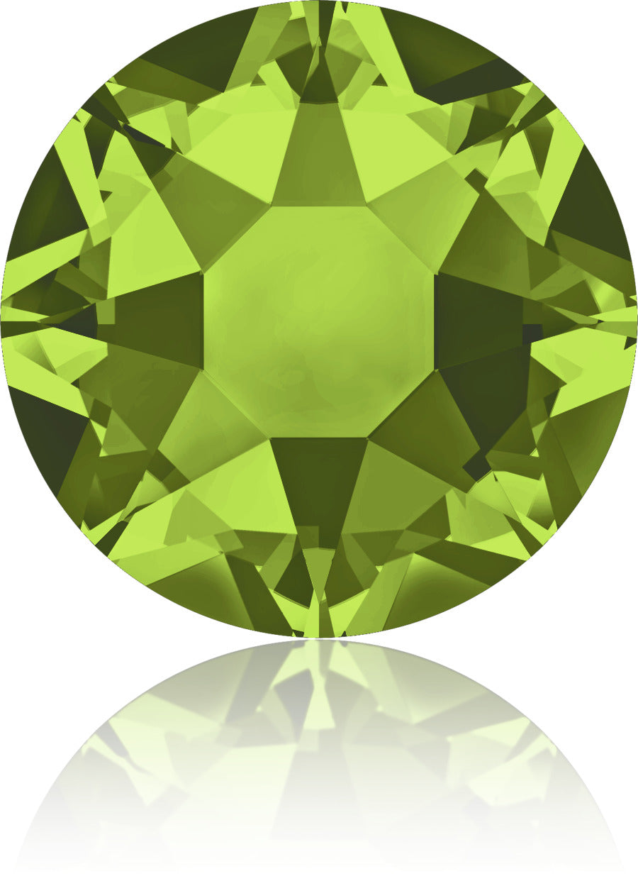 Olivine Swarovski Hot Fix Crystals - Creative Crystal