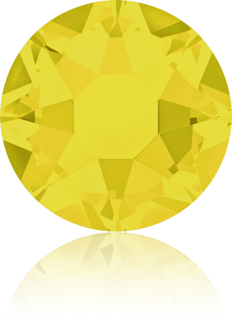 Yellow Opal Swarovski Hot Fix Crystals