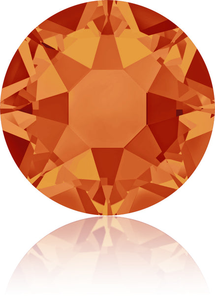 Fire Opal Swarovski Hot Fix Crystals - Creative Crystal