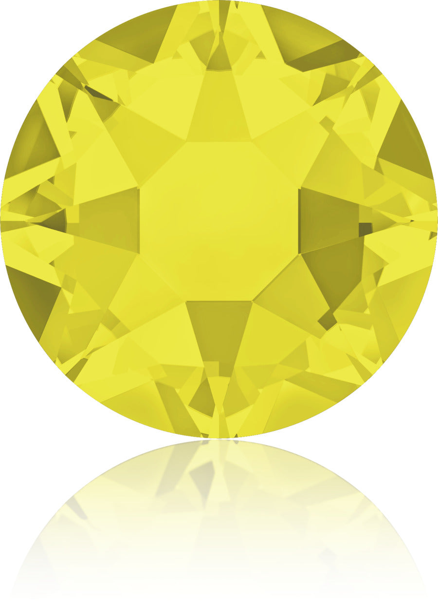 Citrine Swarovski Hot Fix Crystals - Creative Crystal