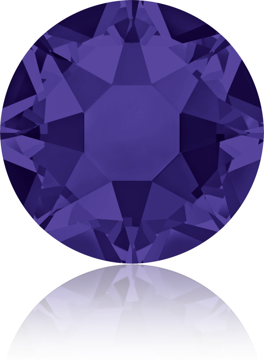 Purple Velvet Swarovski Hot Fix Crystals - Creative Crystal