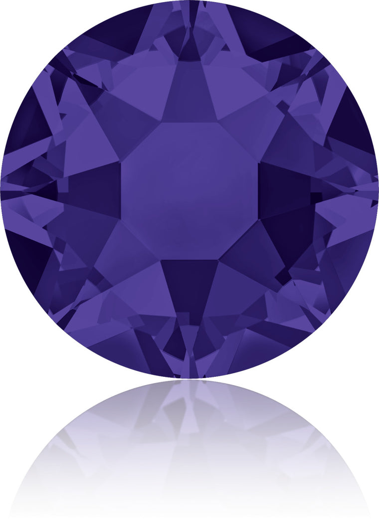 Purple Velvet Swarovski Hot Fix Crystals