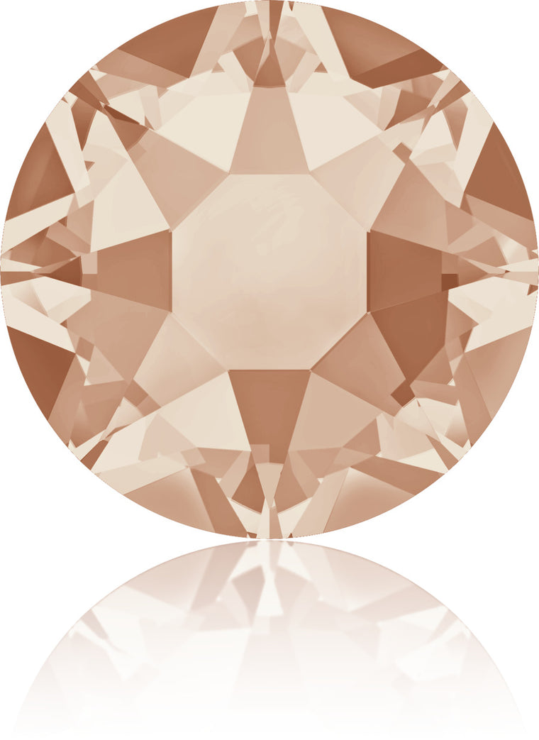 Light Peach Swarovski Hot Fix Crystals