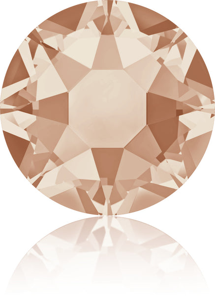 Light Peach Swarovski Hot Fix Crystals - Creative Crystal