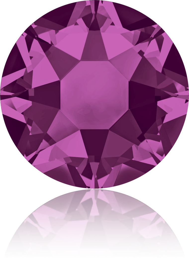 Fuchsia Swarovski Hot Fix Crystals