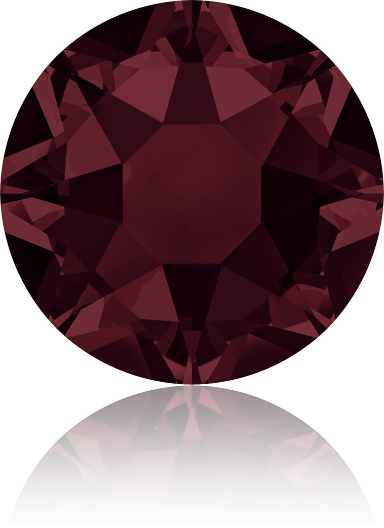 Burgundy Swarovski Hot Fix Crystals