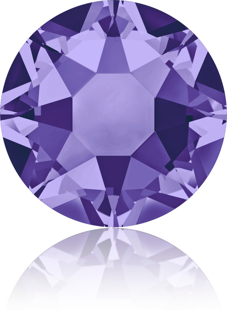 Tanzanite Swarovski Hot Fix Crystals