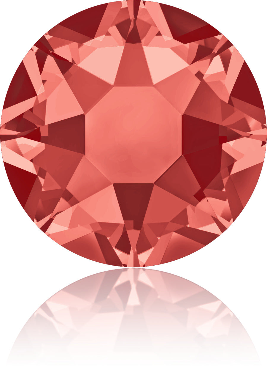 Padparadscha Coral Swarovski Hot Fix Crystals - Creative Crystal