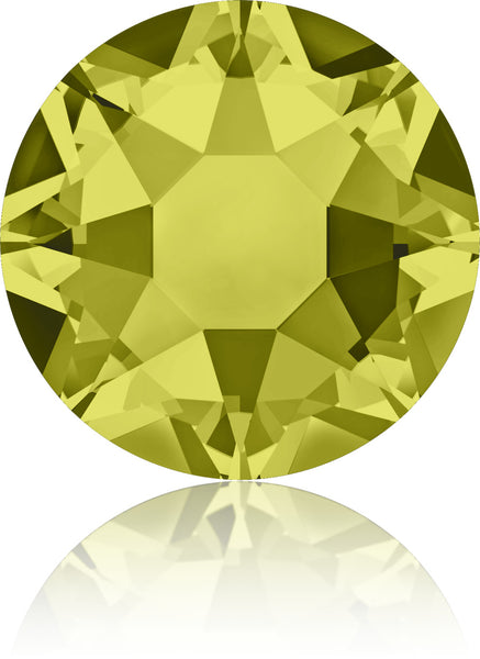 Khaki Swarovski Hot Fix Crystals - Creative Crystal