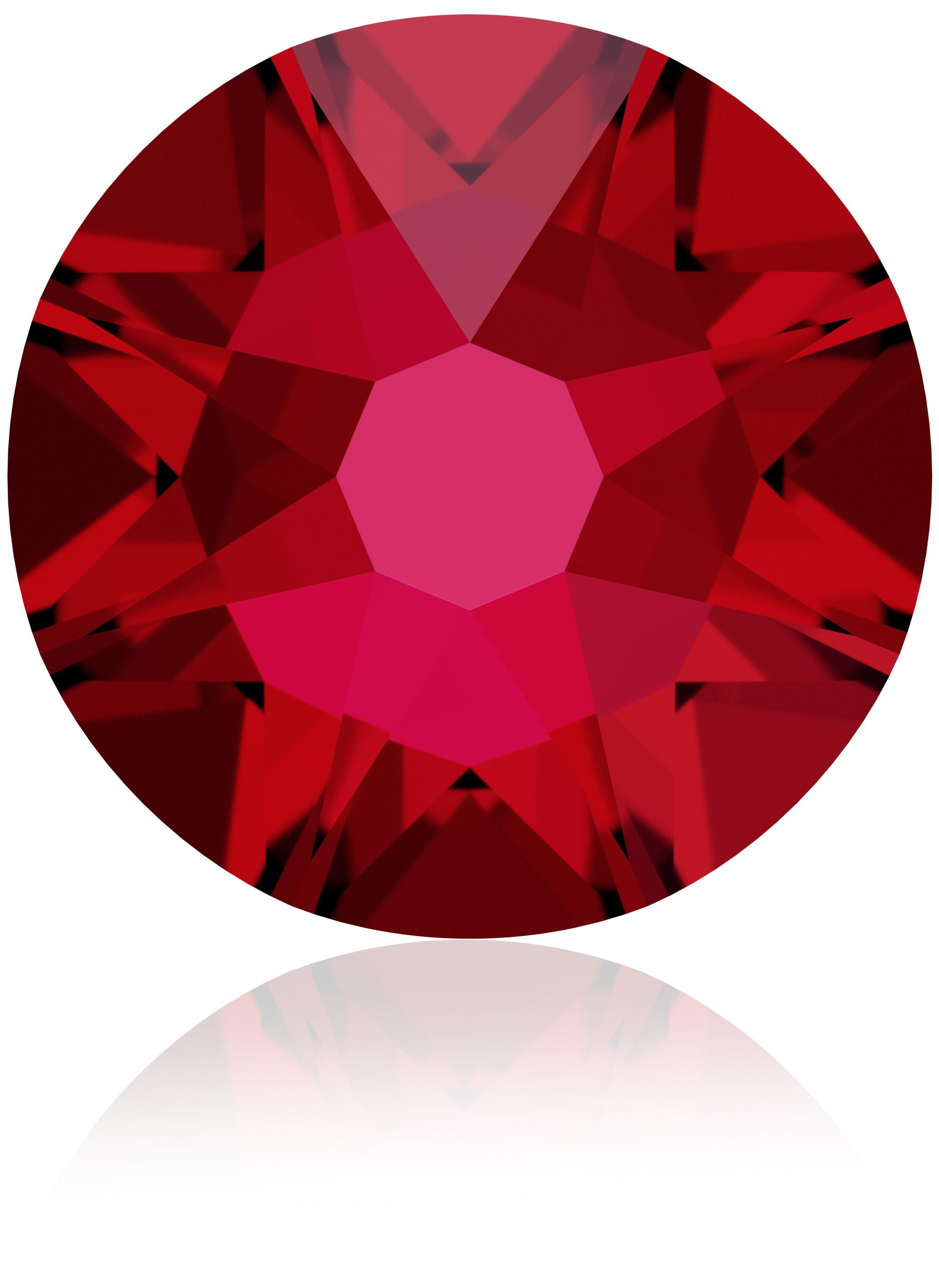 Scarlet Swarovski Hot Fix Crystals - Creative Crystal
