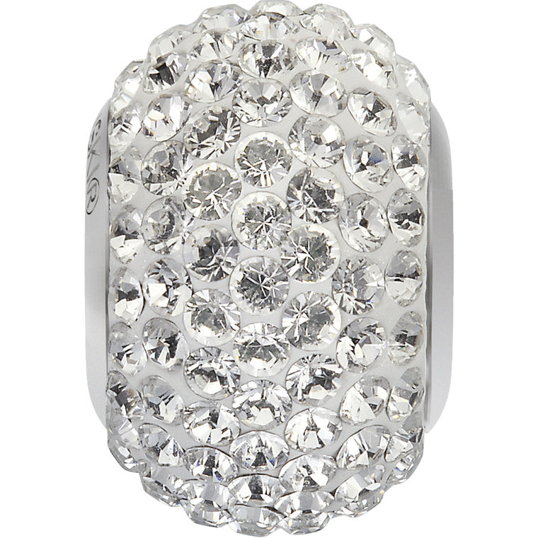 BeCharmed & Pavé Clear Diamond Beads