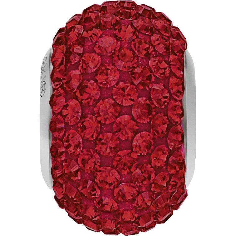 BeCharmed & Pavé Siam Red Beads