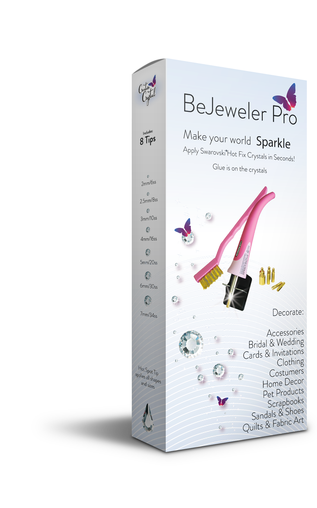 The New BeJeweler® Pro Universal Classic Hot Fix Tool - Creative Crystal