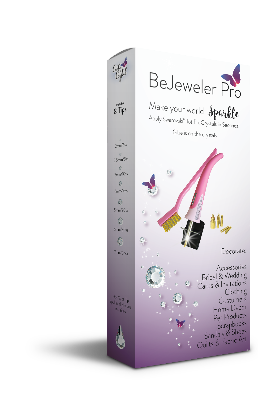 The BeJeweler® Pro Hot Fix Tool - Creative Crystal