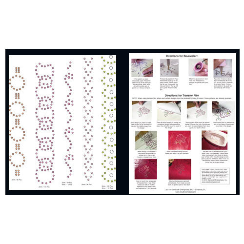 Borders Pattern Booklet - Creative Crystal