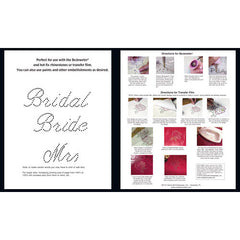 Bridal Alphabet Pattern Booklet - Creative Crystal