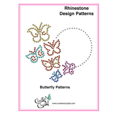 Butterfly Pattern Booklet - Creative Crystal