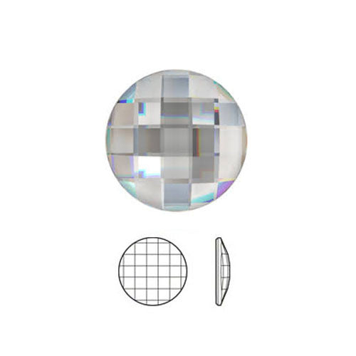 Swarovski Chessboard Circle Hot Fix Crystals
