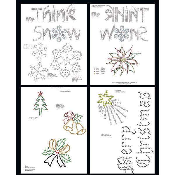Christmas Pattern Booklet - Creative Crystal
