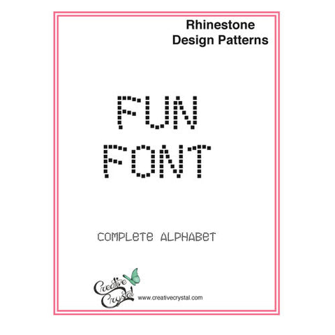 Fun Alphabet Pattern Booklet - Creative Crystal