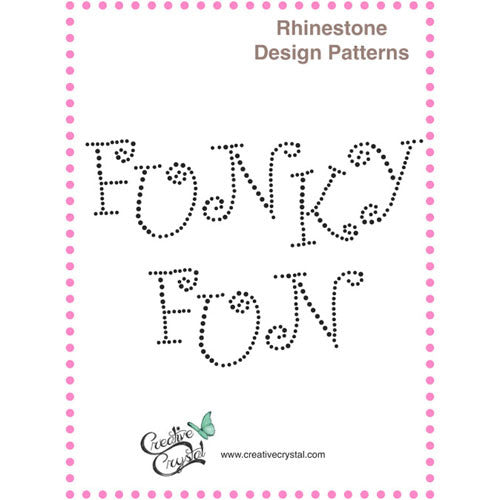 Funky Fun Alphabet Pattern Booklet - Creative Crystal