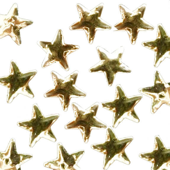 Swarovski Gold Star Hot Fix Stars - Creative Crystal