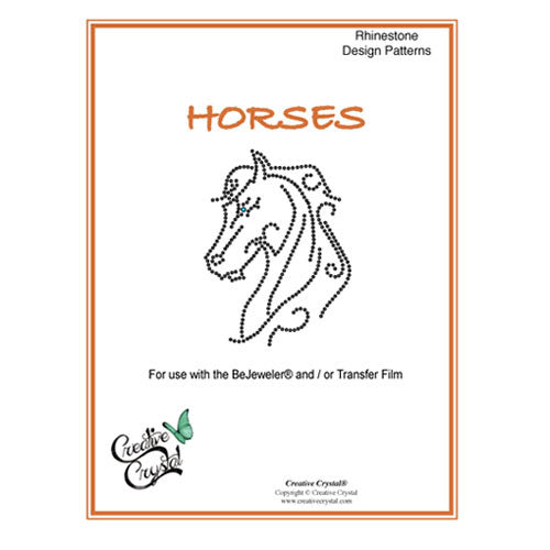 Horses Pattern Booklet - Creative Crystal