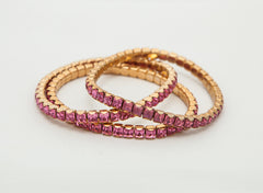 Stretch Bracelets with Swarovski Crystals - Creative Crystal
