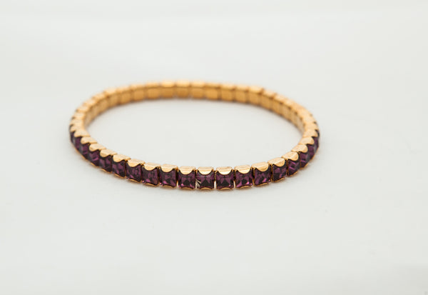 Stretch Bracelets with Swarovski Crystals
