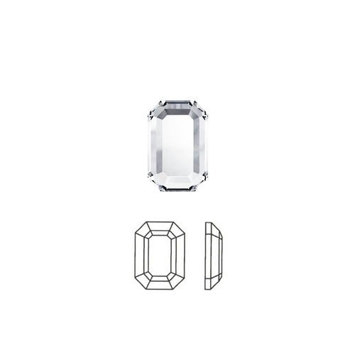 Octagon Swarovski Hot Fix Crystals