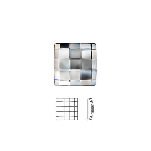 Swarovski Square Chessboard Hot Fix Crystals - Creative Crystal
