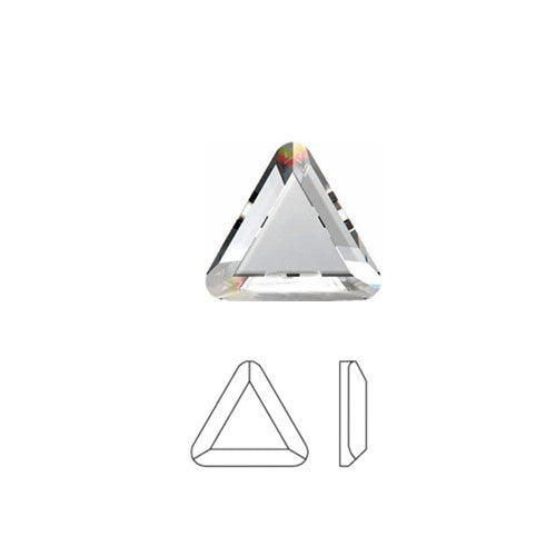 Triangle Swarovski Hot Fix Crystals