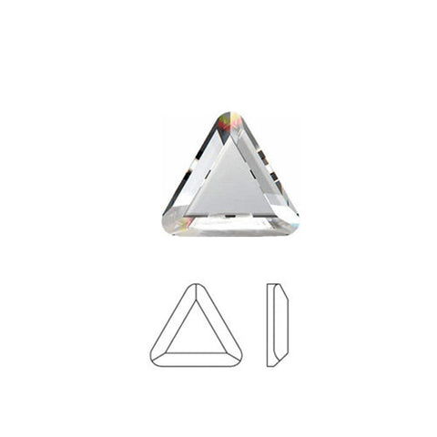 Triangle Swarovski Hot Fix Crystals - Creative Crystal