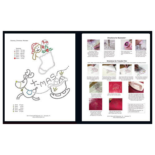 Christmas & New Year Pattern Booklet - Creative Crystal