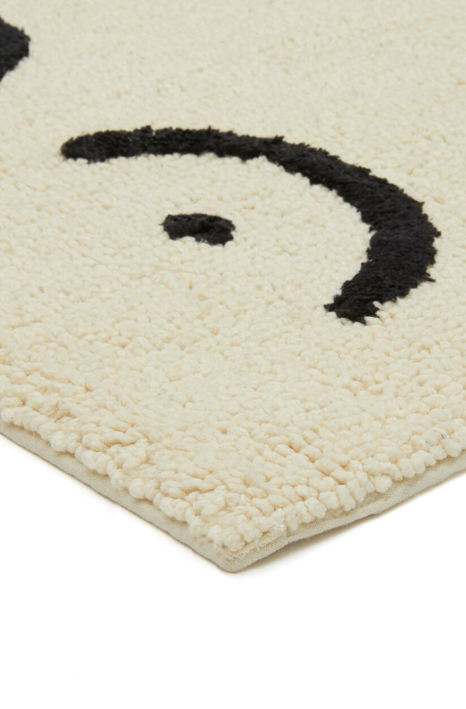 TORSO BATHMAT - ORGANIC COTTON (CREAM)